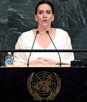 World Leaders address the 72nd Annual United Nations General Assembly - Argentine
