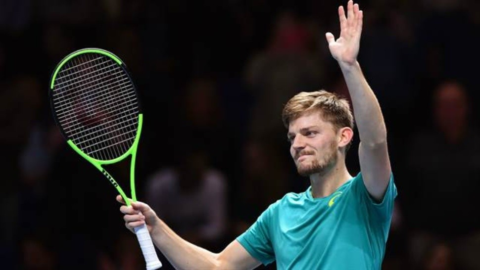 Tras 1 hora y 45 minutos, Goffin pasó a la final. / (AFP)