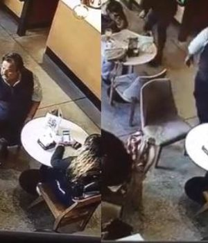 El video, registrado en Santa Fe, se hizo viral en Facebook.