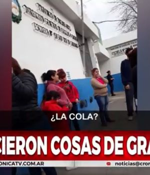 La hermana de la nena abusada grabó el relato del horror (Captura de video).
