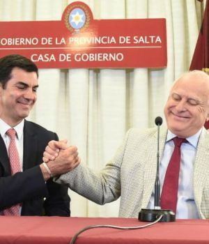 Urtubey, junto a Lifschitz.