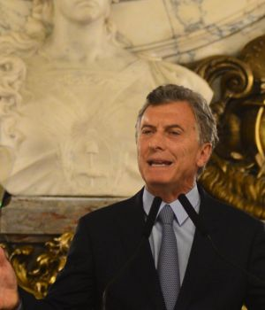 President Mauricio Macri, in the press conference there, he was able to release the domain.