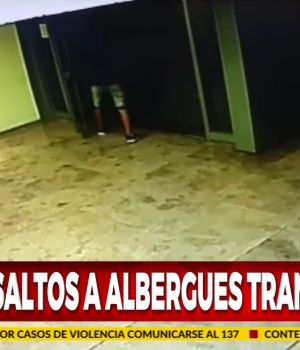 Ola de asaltos en albergues transitorios