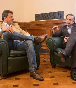 Massa y Pichetto, las caras visibles de Alternativa Federal.