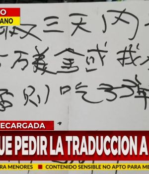 Mafia china recargada