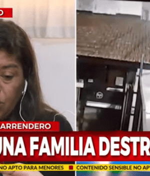La madre pide que el responsable siga preso (Captura de TV).