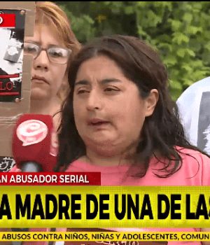 Marcela, mamá de una de las nenas abusadas, habló en exclusiva con Crónica HD (Captura de TV).